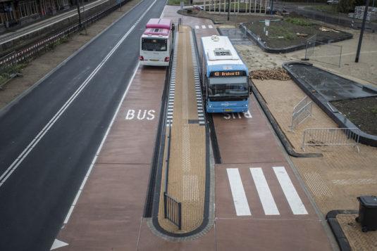 Busbaan in Dieren